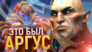 ТИТАН АРГУС ВРЕЗАЛСЯ В АРБИТРА!!! [Wow: Shadowlands]