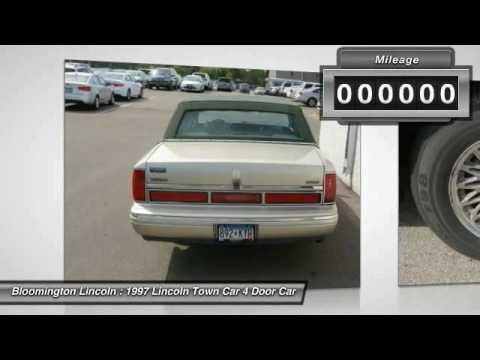 1997 Lincoln Town Car Bloomington, Minneapolis, St Paul, Minnetonka, MN P21590A