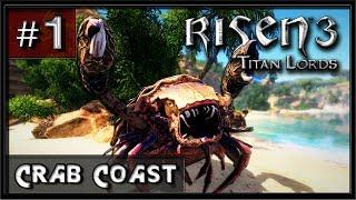 Risen 3 - Titan Lords - PC Gameplay (Hard) - Part 1 - Crab Coast