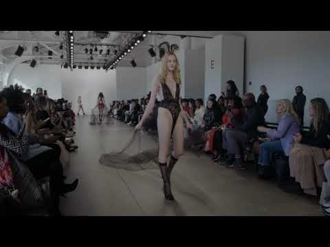 Fancy Sinner Lingerie NYFW 2019 - (Full Show) Daydreaming Collection. http://bit.ly/2MFPP4N
