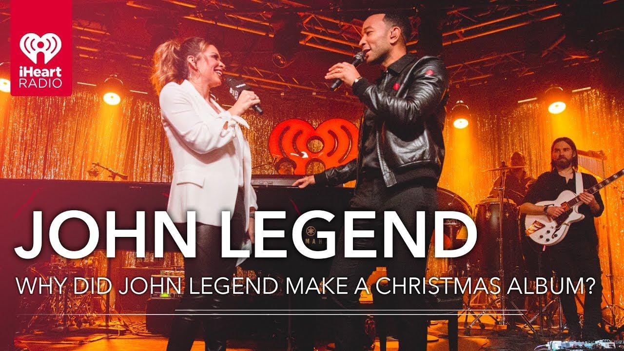 Iheart Christmas.Why Did John Legend Make A Christmas Album Iheartradio Live