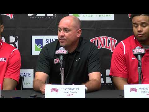 9.19.17 UNLV Football Game Three Press Conference