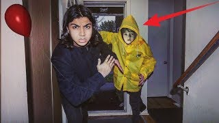 "I WAS AT HOME AND GEORGIE FROM ""IT"" BROKE INTO MY HOUSE 