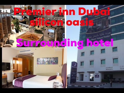 Premeir Inn Dubai Silicon Oasis || Reviewing Night Surrounding