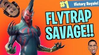 MOST INSANE ENDING & New FLYTRAP Skin! Fortnite Battle Royale
