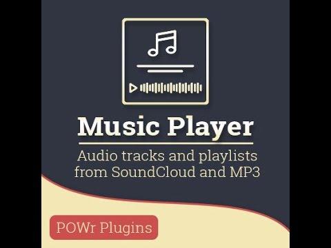 Reproductor de música para tu web Adobe Muse