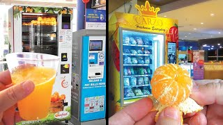 Healthy Vending Machines For Fresh Fruits Lovers In Malaysia