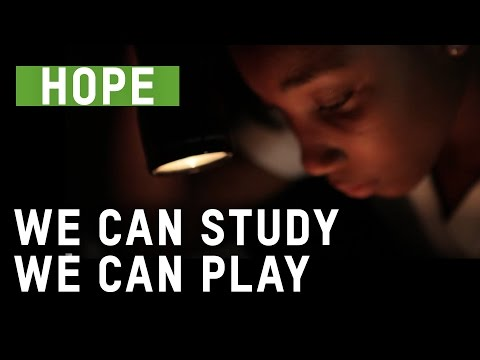 Stories of Hope -  Light to study by in Haiti | Oxfam GB