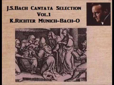 J.S.Bach Cantata Selection Vol.1 [ K.Richter Münich-Bach-O ] (1959~69)
