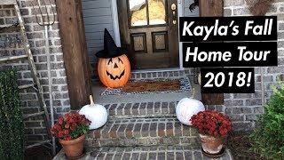 Kayla's 2018 Fall Home Tour!