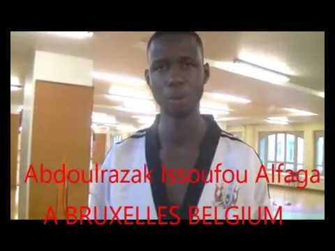 NIGER ISSOUFOU ABDOULRAZAK ALFAGA A BRUXELLES BELGIQUE 2016