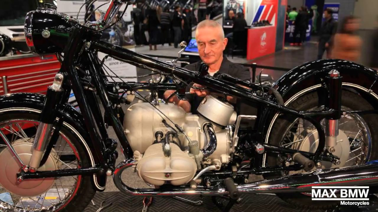 Max Bmw R69s Build At Ims 2016 Youtube