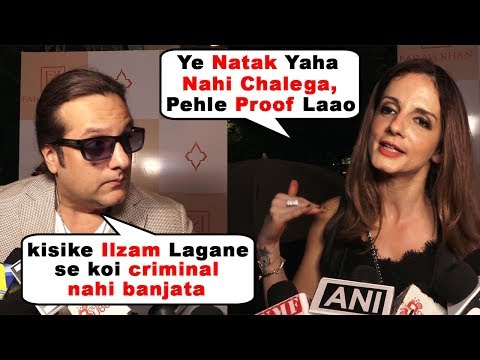fardeen Khan & Suzzane Khan's Angry Reaction On Me Too Movement