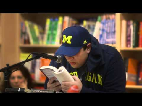 Ilan Mochari reads from Zinsky the Obscure at Porter Square Books (5/30/13)