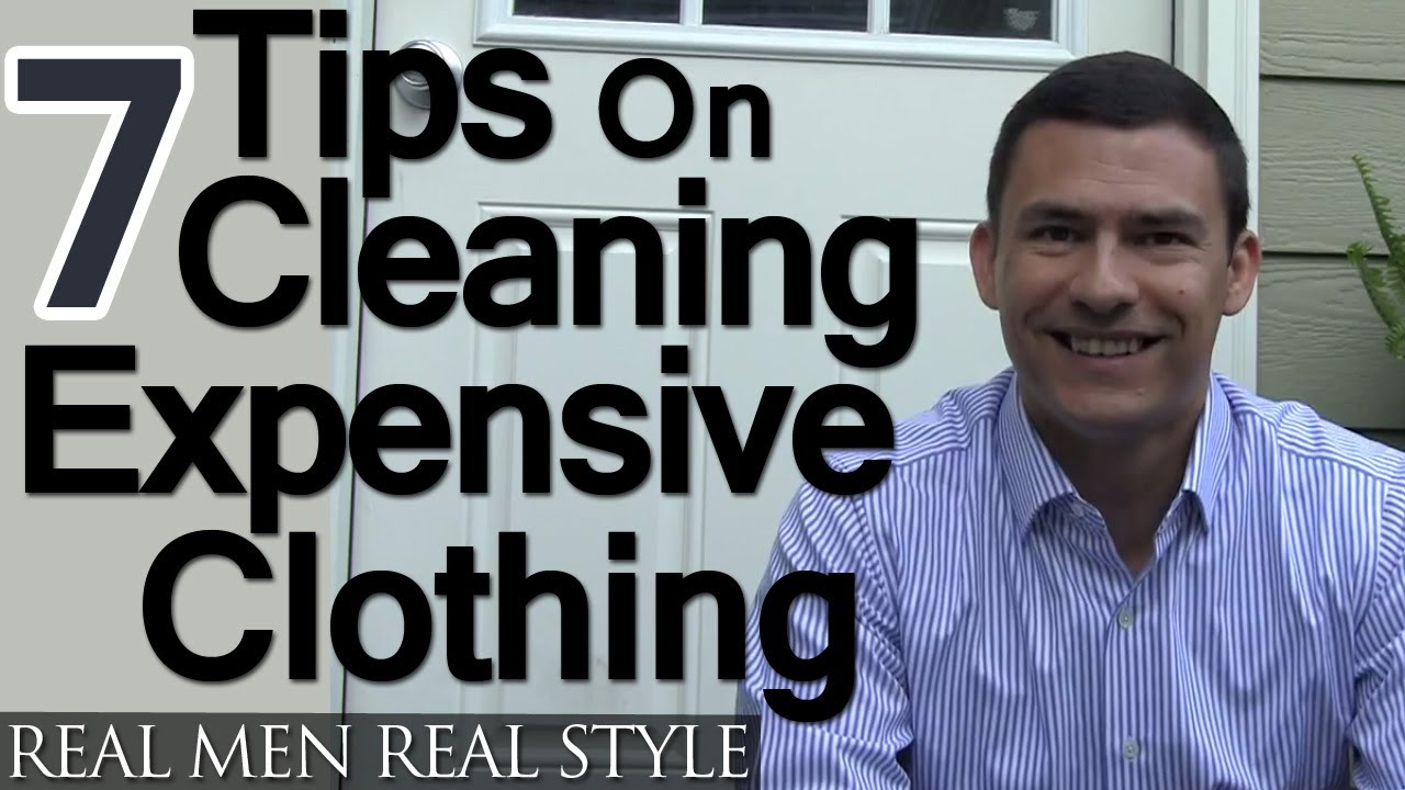 7 Tips For Cleaning Expensive Clothing Washing Drying Menswear