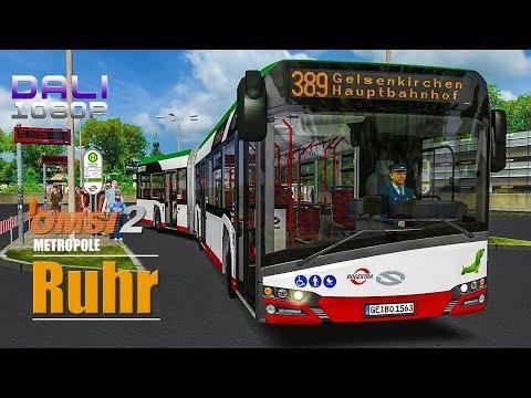 OMSI 2 Add On Metropole Ruhr - Solaris Urbino 18 IV - Logitech G29 - EDTracker Pro Wireless