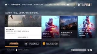 Battlefield 1 Road to max lvl # 1 zurück von den toten