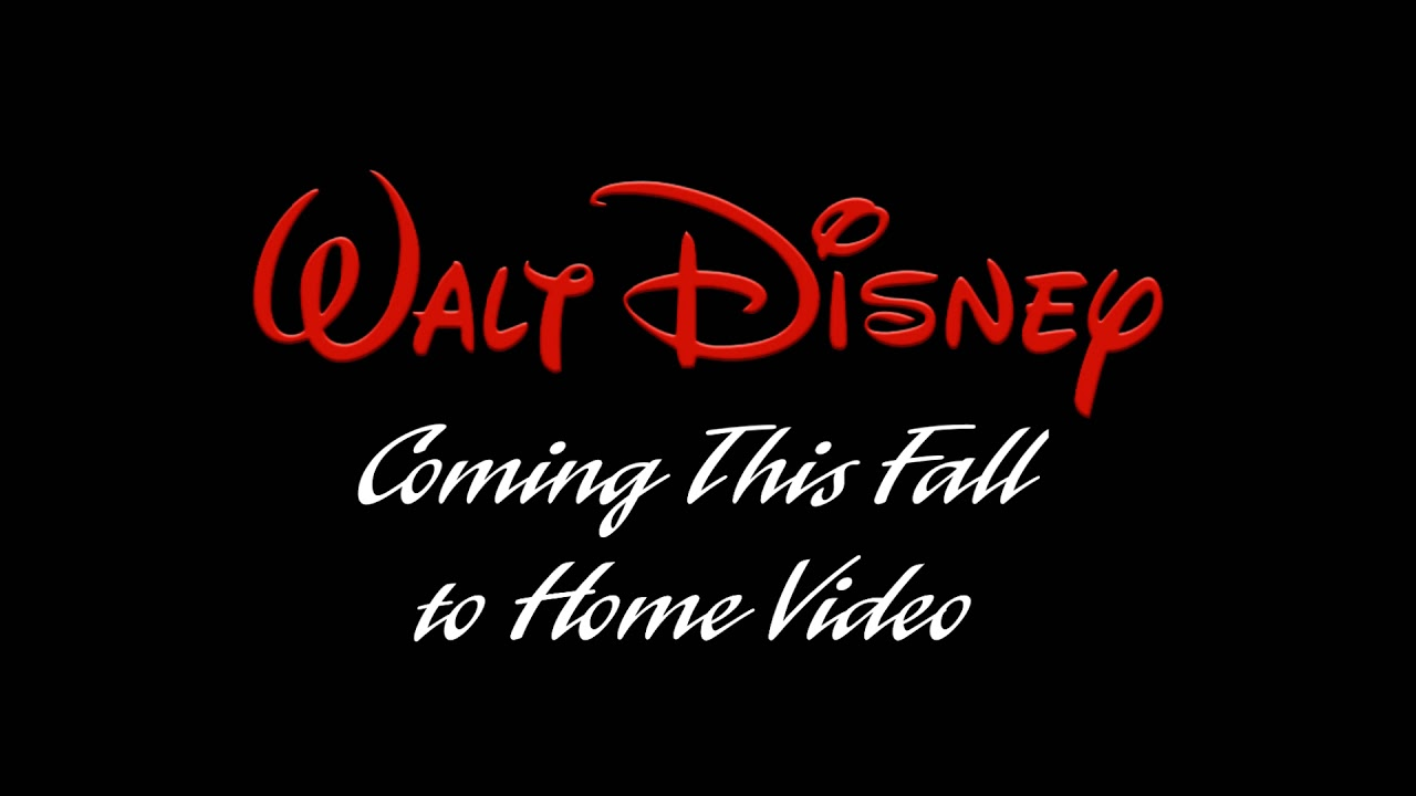 Walt Disney Coming This Fall to Home Video HD Remake