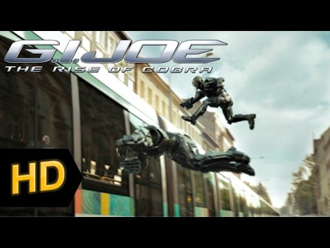 G.I. Joe: The Rise of Cobra (2009) - (HD) Chase scene!