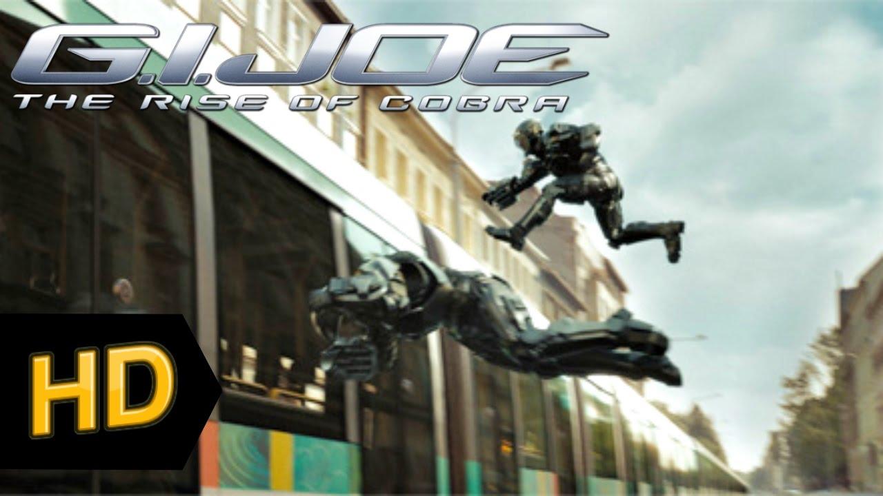 G I Joe The Rise Of Cobra 2009 Hd Chase Scene Youtube