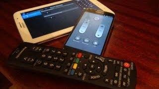 Как Управлять ТВ с помощью Смартфона или Планшета? / Арстайл /(На примере Samsung Galaxy S4 и Планшета Samsung GALAXY Note 8. Управляем практически любой техникой. Всё просто! -) Ещё: Каким..., 2013-07-07T19:20:30.000Z)