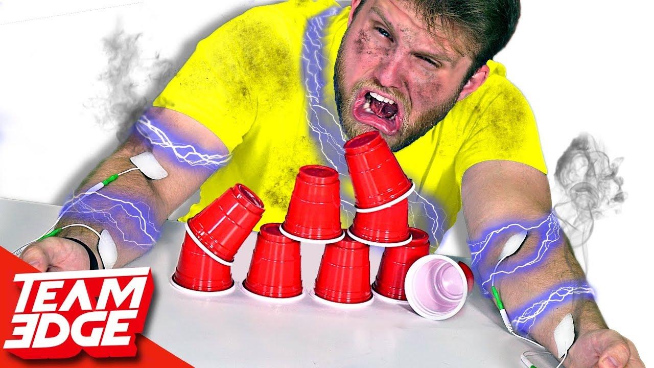 shocking-cup-stacking-challenge