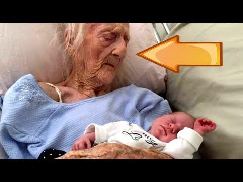 Bizarro: Uma Idosa de 101 Anos Teve um Lindo Bebê?