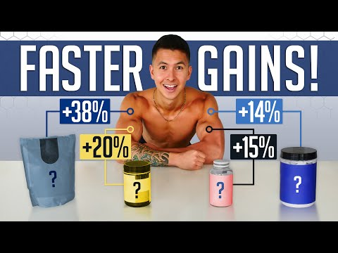 The 4 BEST Supplements To Build Muscle Faster (And How Much They Help) ft. Dr. Brad Schoenfeld