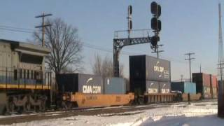 Fostoria Ohio Trains: CSX, NS, UP, BNSF, CP, SOO, CR