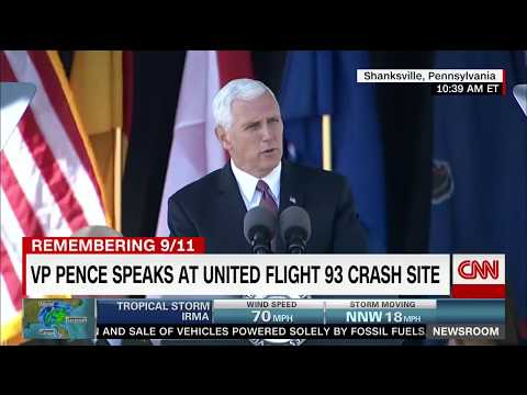 Pence on 9/11: Longest 12 minutes of my life