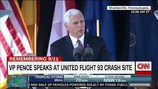 Pence on 9/11  Longest 12 minutes of my life