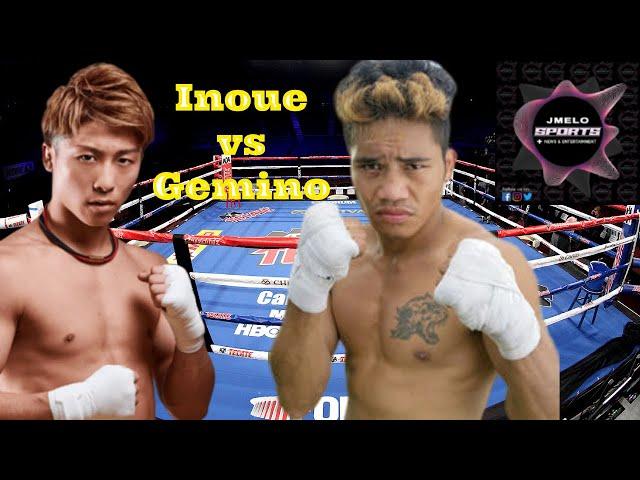 Naoya Inoue HIMAMON ng kanyang PINOY sparring partner, JHON GEMINO!
