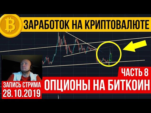 Криптовалюта:  опционы на биткоин. Часть 8