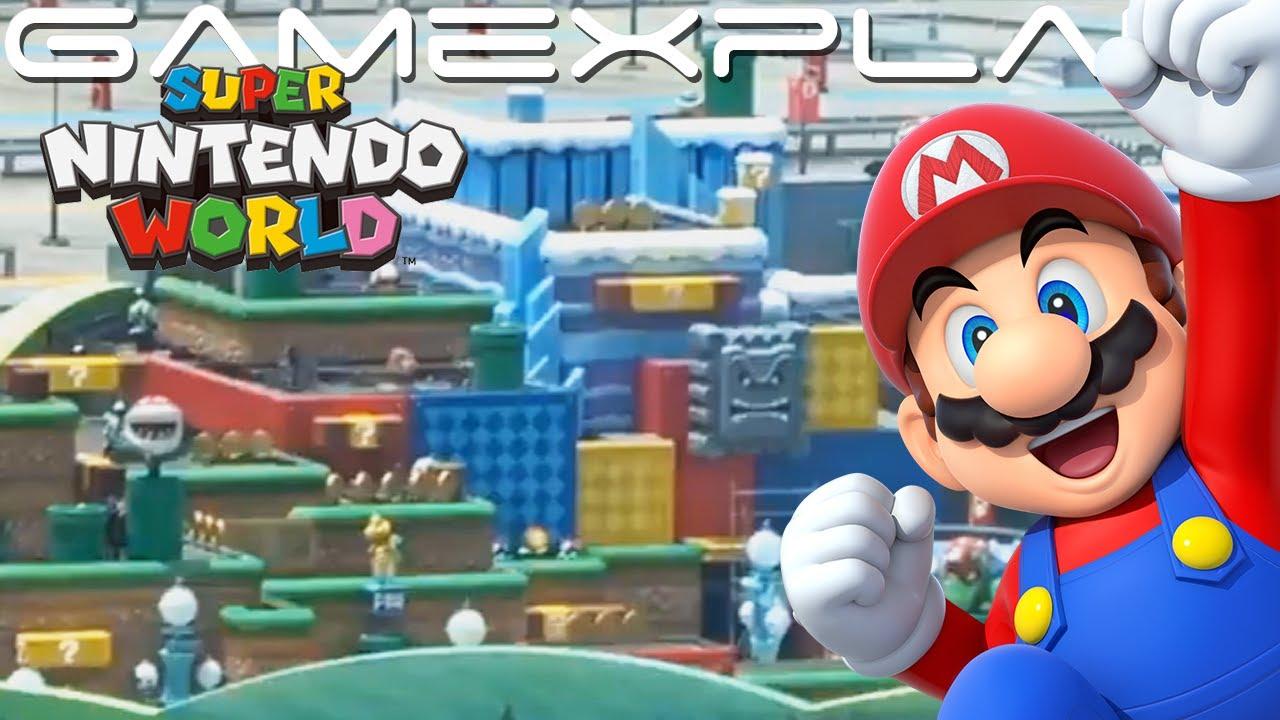 Amazing Look At Super Nintendo World S Animatronics In Motion Youtube