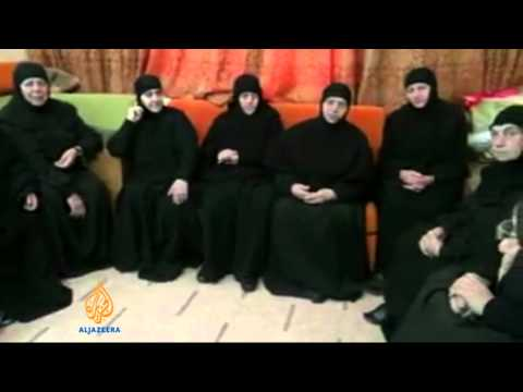 New video emerges showing kidnapped Syrian nuns