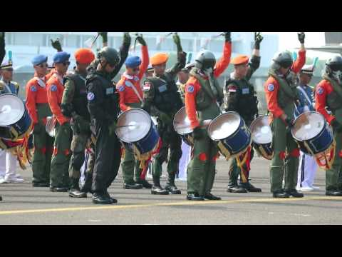 Drum band Taruna AAU @ Halim AFB