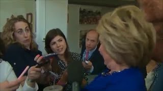 Hillary Clinton Seizure during Interview - Multiple Angles