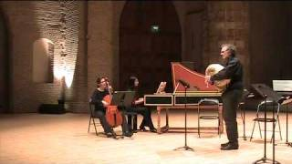 Joseph Bodin de Boismortier : sonate Op. 72 n°4. Musette et basse continue.