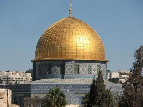 The place where Muhammad ascended into heaven and met God - the Temple Mount (Al Aqsa), Jerusalem