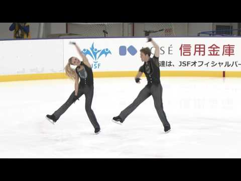 2016 ISU Junior Grand Prix - Yokohama - Short Dance - Rachel PARSONS / Michael PARSONS USA