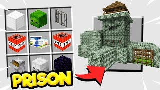 CRAFTING A PRISON in MINECRAFT