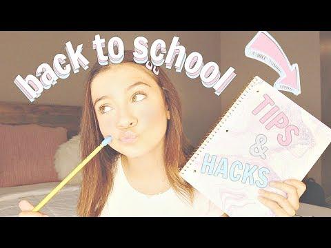 Back to School 2019 | tips & hacks + GIVEAWAY | High School FRESHMAN Edition
