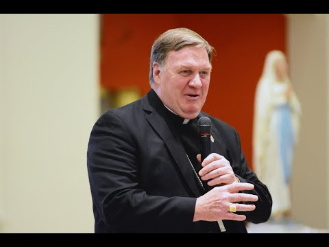 Cardinal Joseph W. Tobin, C.Ss.R., recently visited four Archdiocesan parishes to share his pastoral vision for the future of the Archdiocese of Newark entitled, Forward in Faith Together: Our Road Ahead.