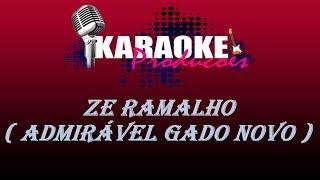 ZÉ RAMALHO - ADMIRÁVEL GADO NOVO (Novo arranjo) ( KARAOKE )