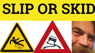 Skid and Slip - The Difference - ESL British English Pronunciation