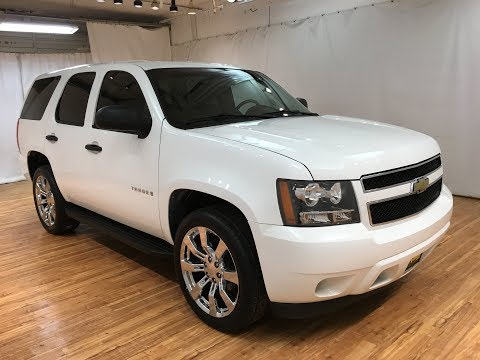 2008 Chevrolet Tahoe 4WD NEW 22INCH TIRES AND WHEELS #Carvision