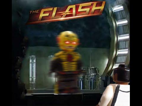 Lego CW The Flash Custom Minifigure Reverse Flash YouTube - How to make homemade lego decals