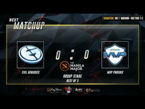 [DotA2] Manila Major Groupstage | EG VS MVP.P