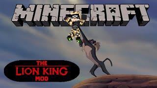A Árvore do Rafiki - O Rei Leão - Minecraft - The Lion King Mod #1