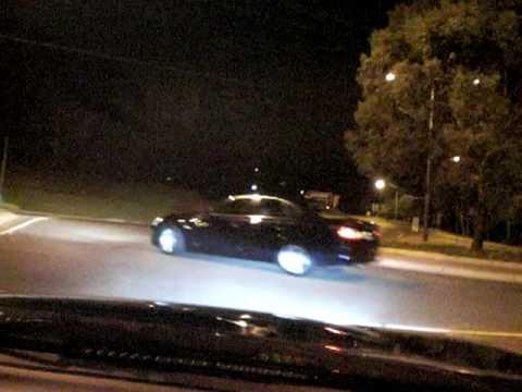 BMW E60 530i Drifting